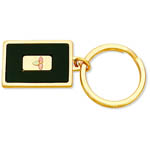 Landstrom's Black Hills Gold black enamel key holder