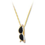 Landstrom's Black Hills Gold sunglasses necklace