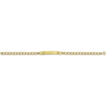 Landstrom's Black Hills Gold womans I D bracelet