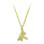 Landstrom's Black Hills Gold dragonfly necklace
