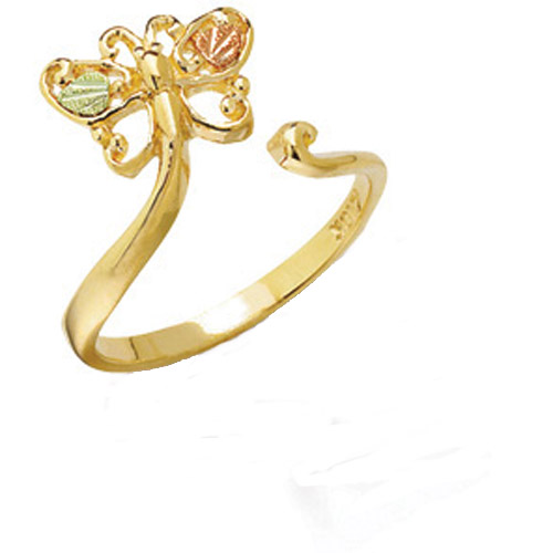 Landstrom's Black Hills Gold butterfly ring