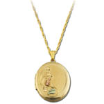 Landstrom's Black Hills Gold locket