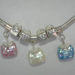 Close up of Frolic Purse Charms of Frolic Charm Bracelet