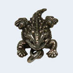 Front view of Horned Toad pendant