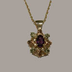 Landstrom's Black Hills Gold Amethyst necklace