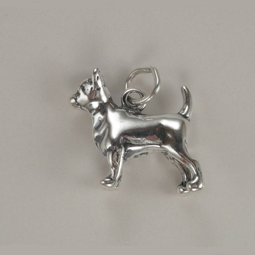 Sterling Silver Chihuahua charm/pendant