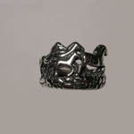 Sterling Silver galloping horses ring
