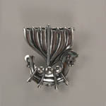 Sterling Silver Viking Ship charm pendant