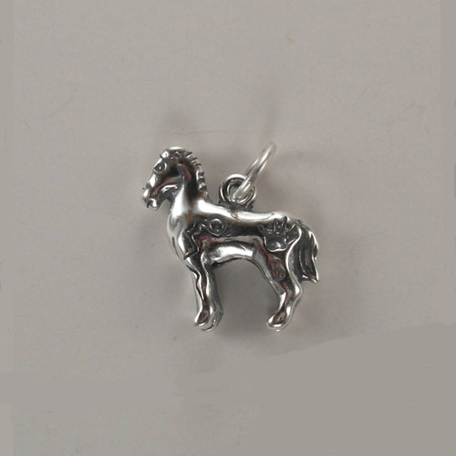 Sterling Silver Indian pony charm/pendant