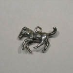 left side of 3D galloping colt charm/pendant