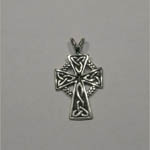 Sterling Silver Celtic cross pendant