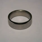 side view of Titanium ring